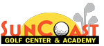 Suncoast Golf Center & Academy Sticky Logo